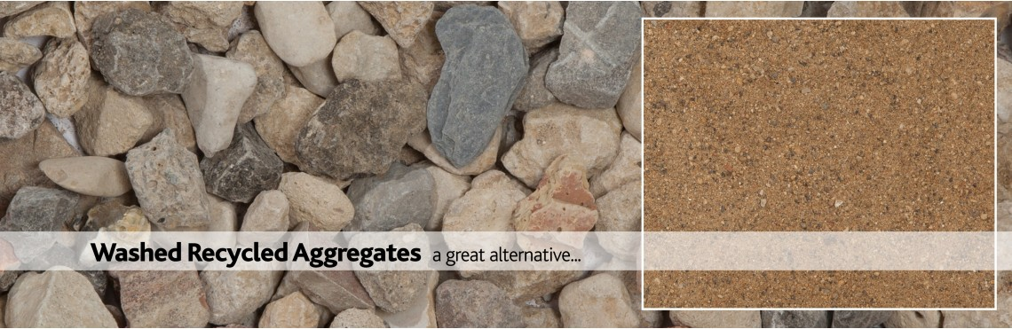 Washed Recycled Aggregates